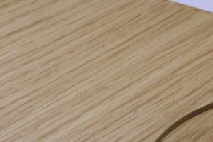 木目調のディスクケース