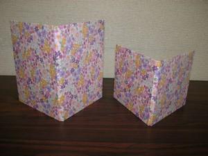花柄のディスクケース/discami