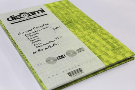 DVDトールサイズ/ポケット付き[Dグリーン]