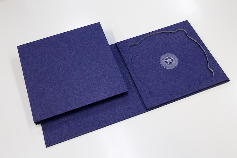 美濃和紙(落水)紫のディスクケース